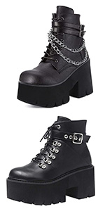 goth boots for women