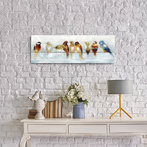 abstract animal picture for bedroom
