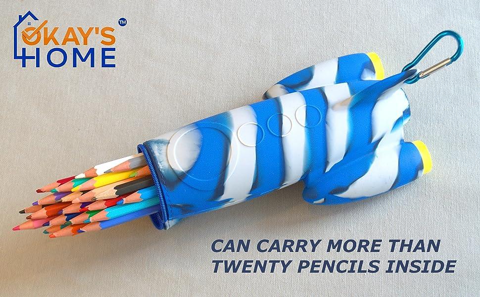 Space Rocket Pencil Case