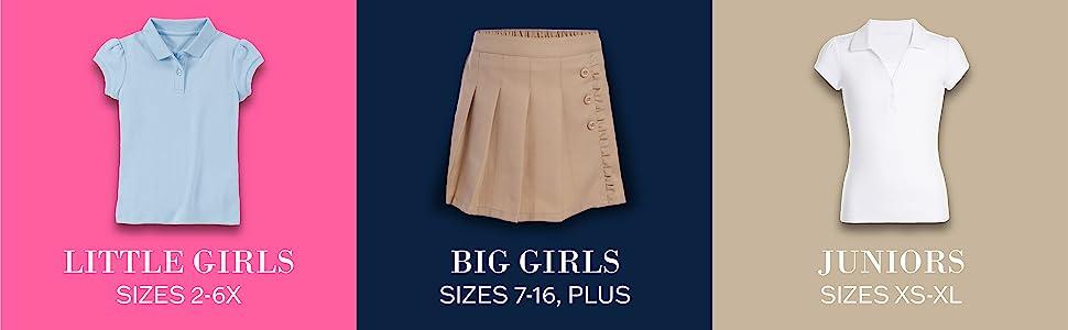 Little Girls, Big Girls, & Juniors