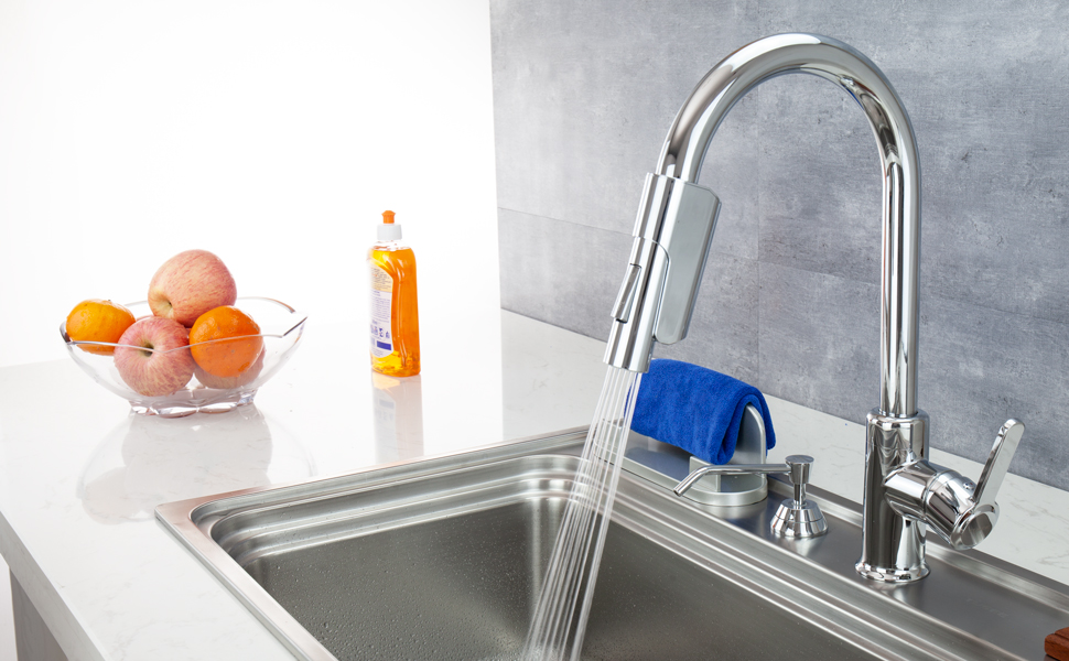 TUSEE Two Sensors Kitchen Faucet