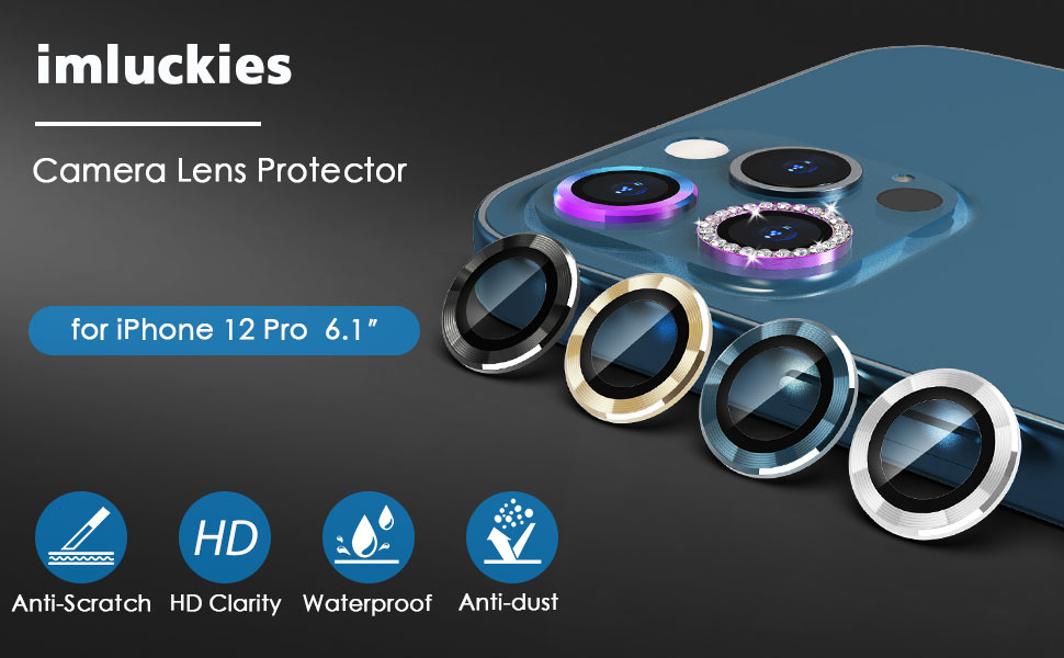iPhone 12 Pro camera lens protector