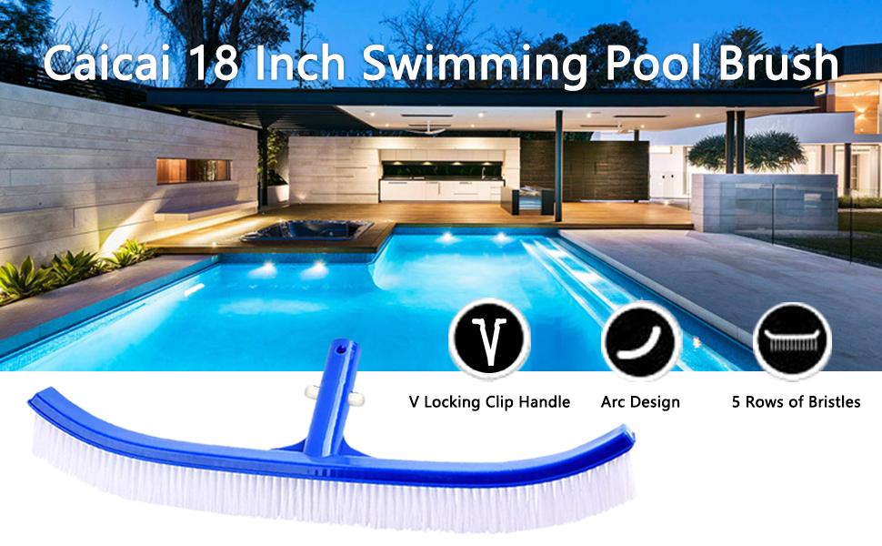18 Inch Swimming Pool Brush