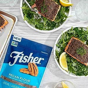 Pecan Crusted Salmon