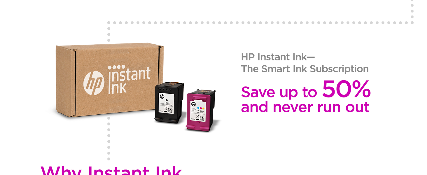 instant ink receive flexible plan recycling included