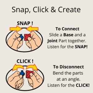 Snap Click and Create with LaQ Sensory Play