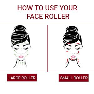 How to use face roller instructions