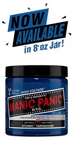 manic panic atomic turquoise 8oz