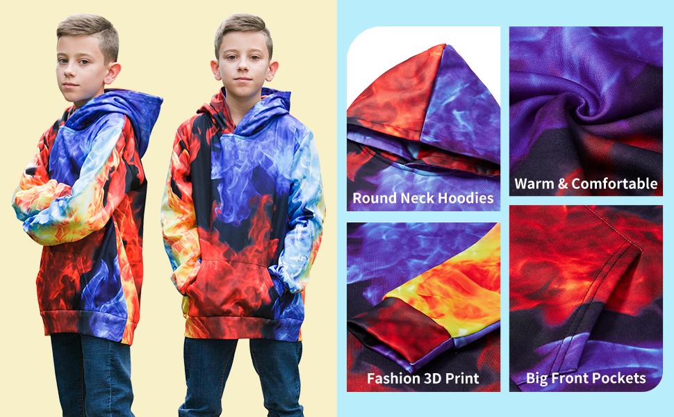teens 3d hoodies