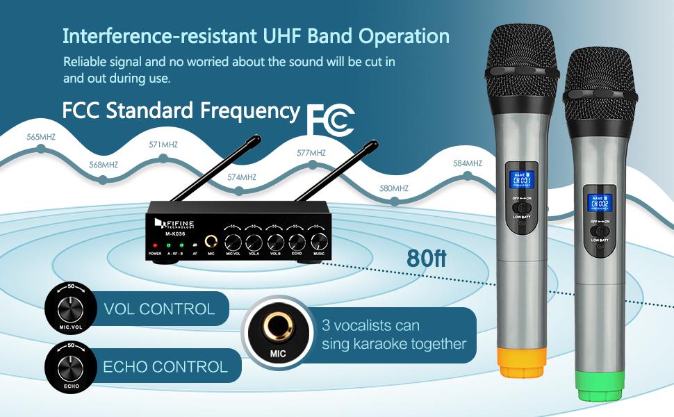 wireless karaoke microphone system