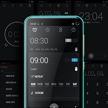 TIMMKOO Q5 Mp3 Player with Alarm Clock
