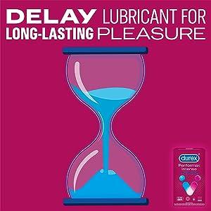 Durex, Delay lubricant for long lasting pleasure