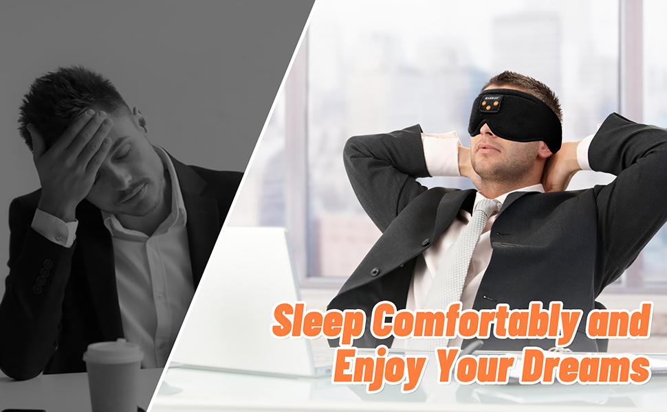 Sleep Mask with Bluetooth
