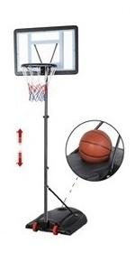 7.2-9.2ft Adjustable Height Basketball System
