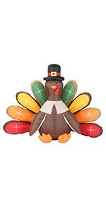 Inflatable Thanksgiving Turkey