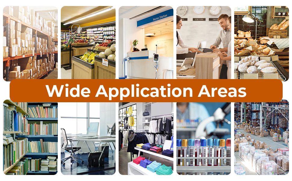 Wide Application Areas