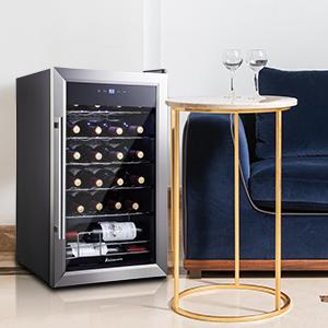 small wine refrigerator