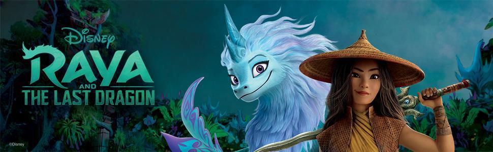 Raya and The Last Dragon Color Splash - Cover Ad