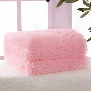 Pink Fur Blanket
