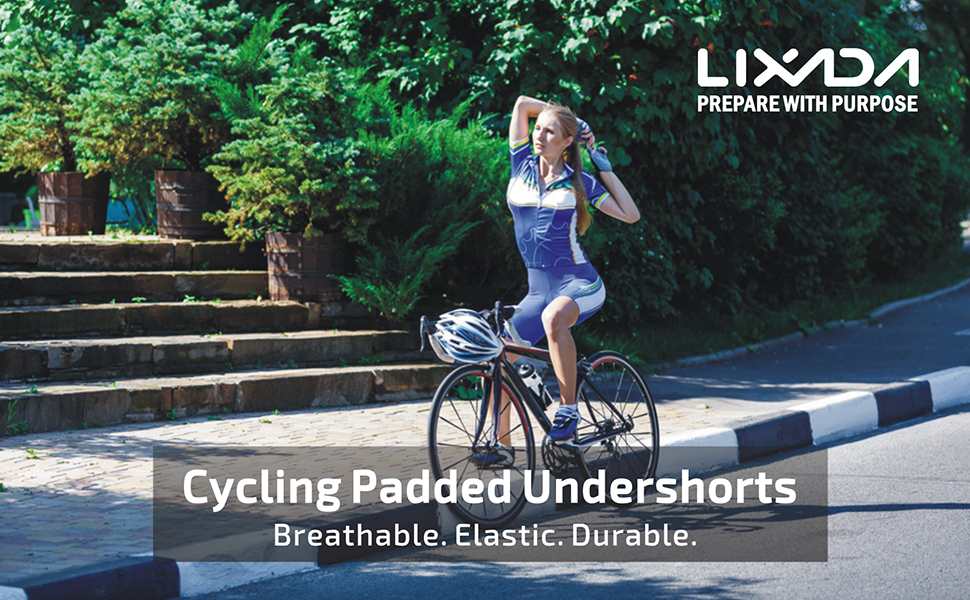 PADDED CYCLING UNDERWEAR FOR WOMEN