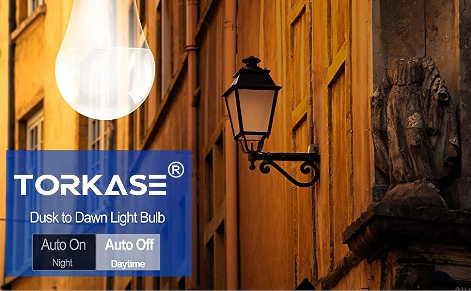 torkase dusk to dawn light bulbs outdoor