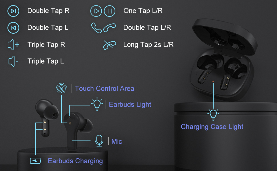 S18 Bluetooth earbuds
