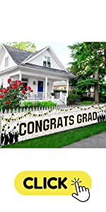 Congrats Grad yard Banner