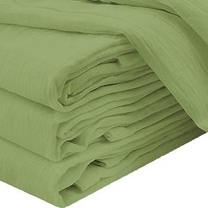 green flour sack