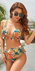 flounce bikini