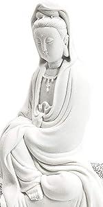 Bellaa Buddha Statues Guan Yin Statue Guanyin Goddess