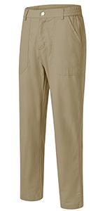 Womens Cargo Hiking Golf Pants Lightweight Wear-Resisting Quick Dry Outdoor Casual Work Zipper