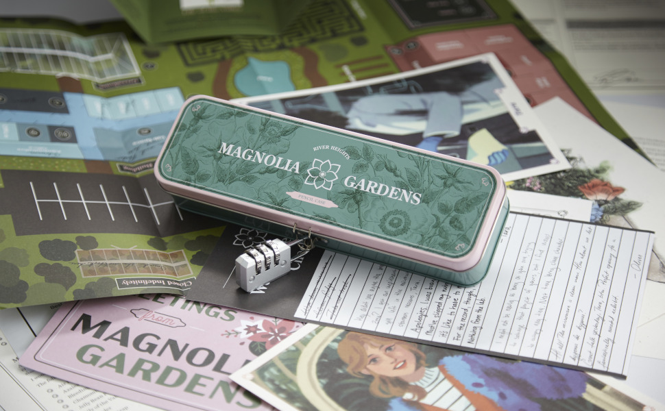 Amazon.com: Hunt A Killer Nancy Drew - Mystery at Magnolia Gardens, Immersive Murder Mystery Game, Examine Evidence, Eliminate Suspects, Catch The Culprit, for Aspiring Detectives, Game Night, AMZ Exclusive : Toys &