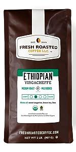 organic ethiopian yirgacheffe