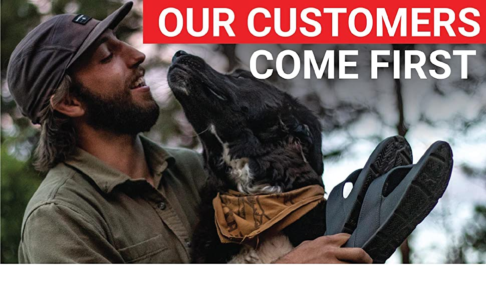 Our customers come first