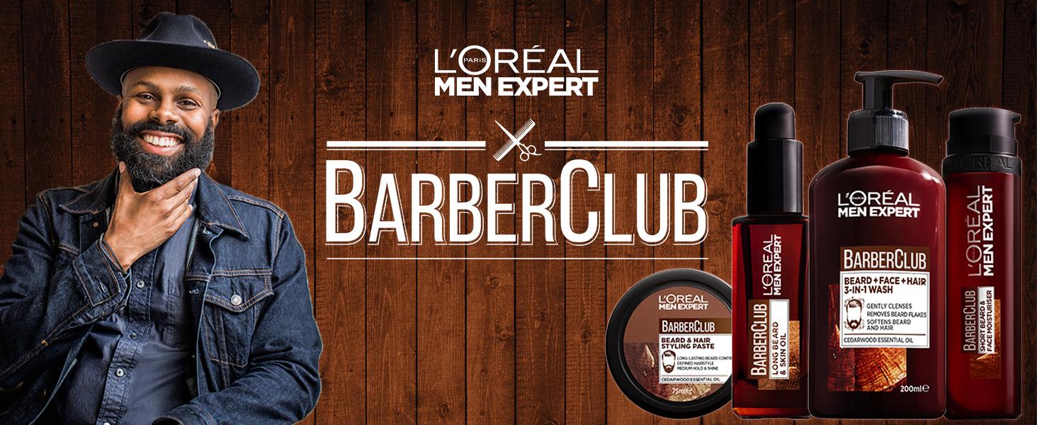 Men Expert Barber Club, Beard Oil, Beard, Barber Club, Men Skincare, L'Oréal Paris Men