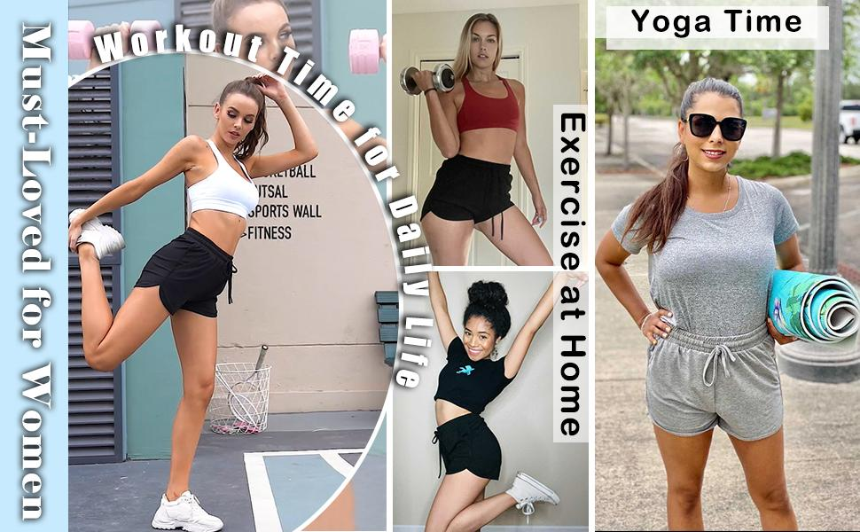 Workout Shorts for Women Casual Summer
