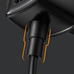 car charger durable connector