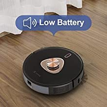 LIDAR mapping technology robot vacuum cleaner