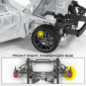 BC Installation Position: Front Right (Passenger Side)