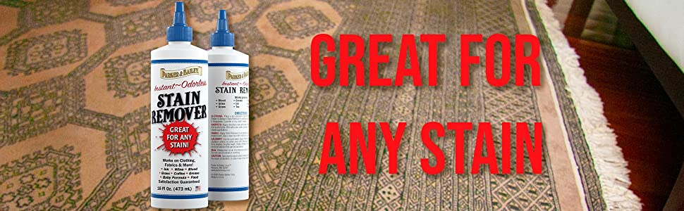 parker bailey stain remover great for any stain on rugs couches clothes