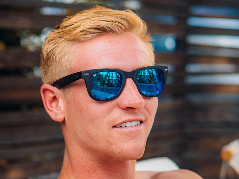 Foldies Wayfarer Polarized Folding Sunglasses