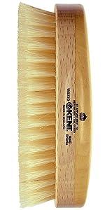 KENT MS23D Oval Military Brush