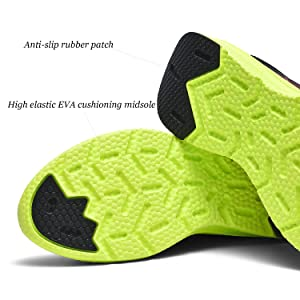 High elastic EVA cushioning midsole