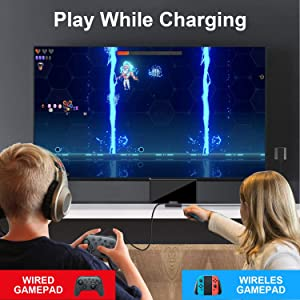 Play while charging