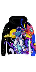 3d graphic print hoodies