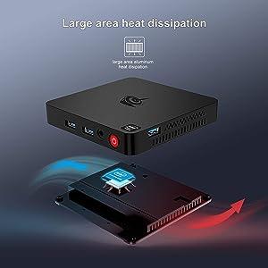 Beelink T4 Professional cooling