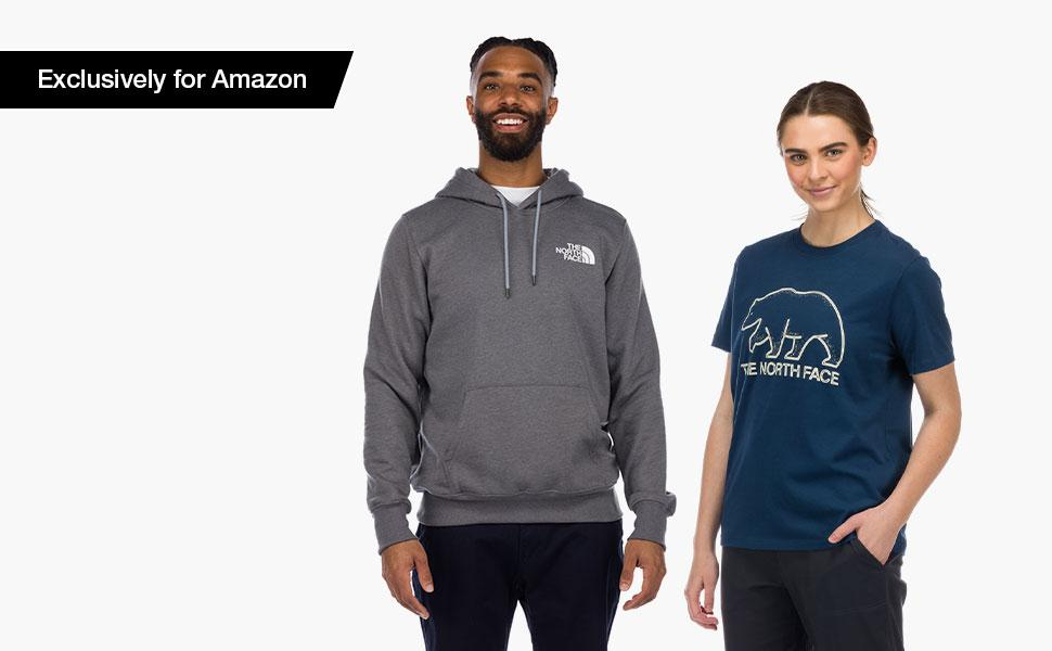Shop The North Face apparel, exclusive to Amazon.