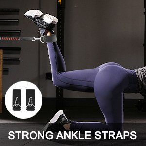 Increase excersize equipment with leg weights
