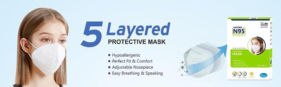5 Layered Protective Mask
