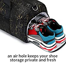 easy to fits the 15 sneakers.